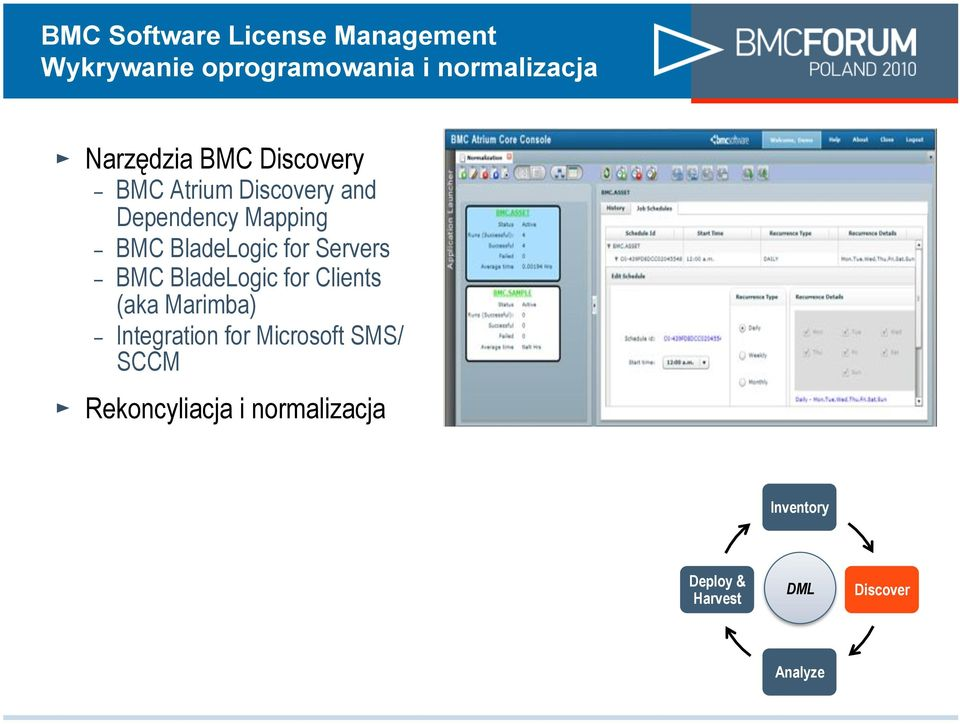 BladeLogic for Clients (aka Marimba) - Integration for Microsoft SMS/ SCCM