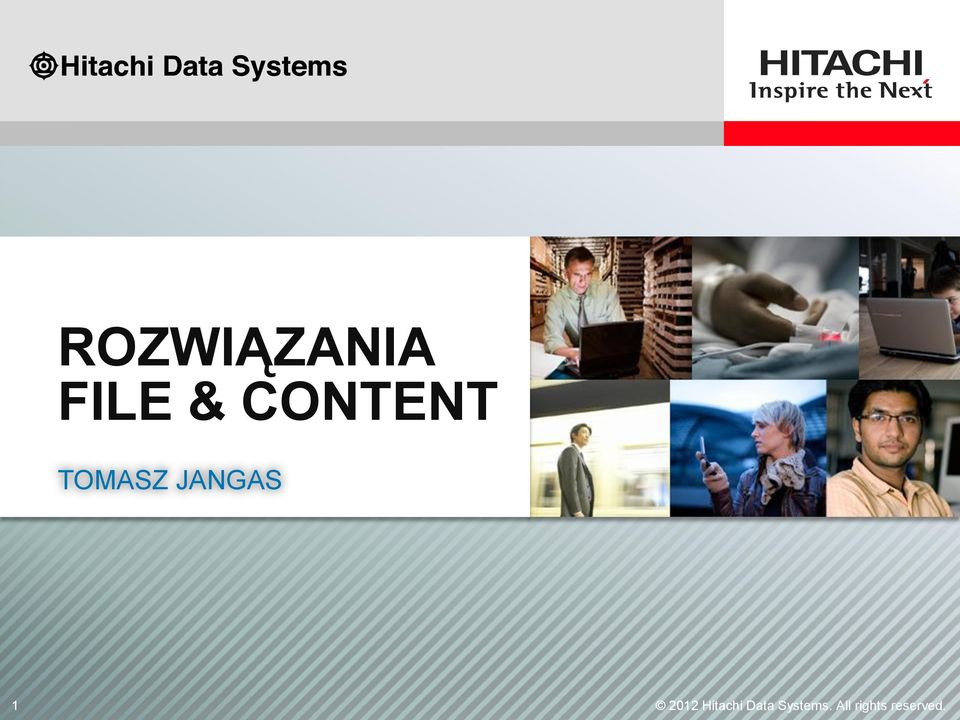 1 2012 Hitachi Data