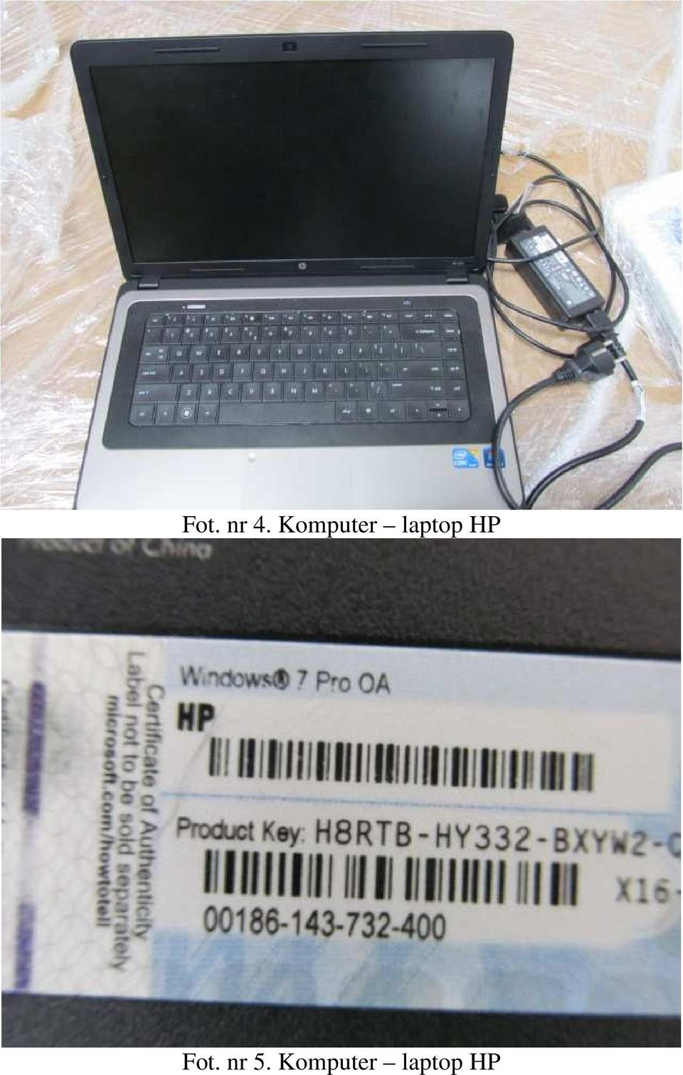 laptop HP Fot.