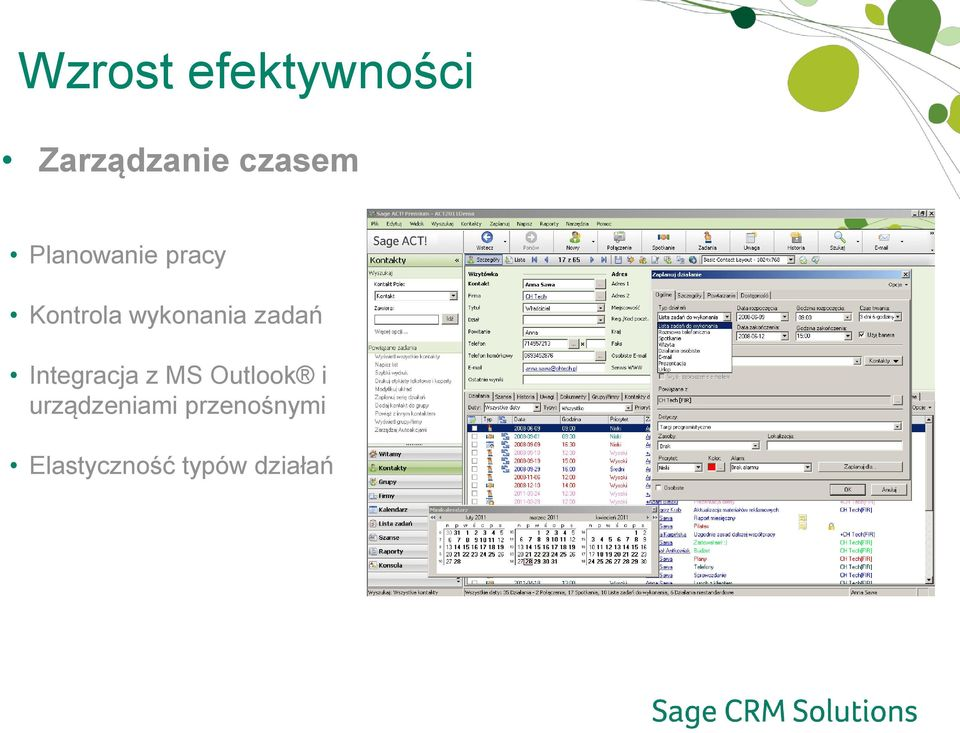 zadań Integracja z MS Outlook i