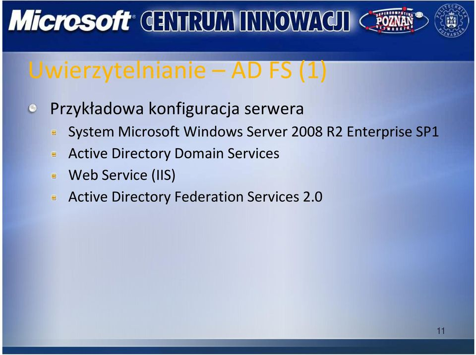 Enterprise SP1 Active Directory Domain Services Web