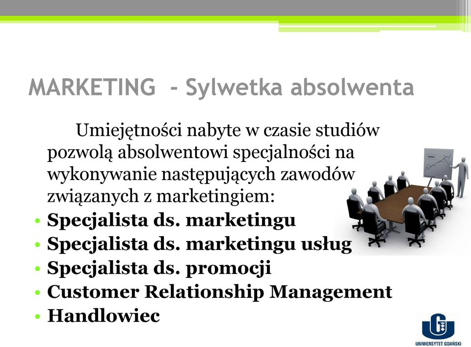 związanych z marketingiem: Specjalista ds. marketingu Specjalista ds.