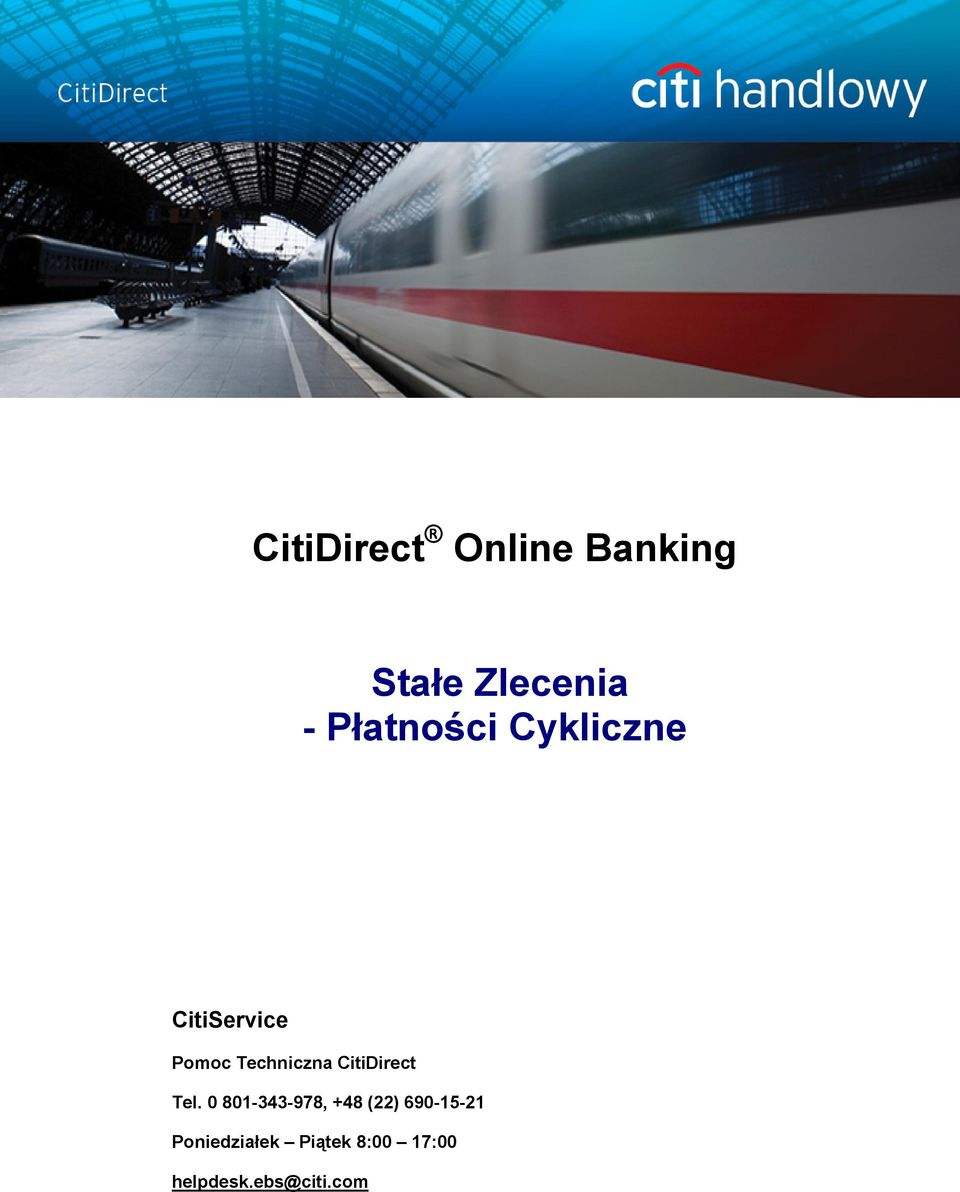 CitiDirect Tel.