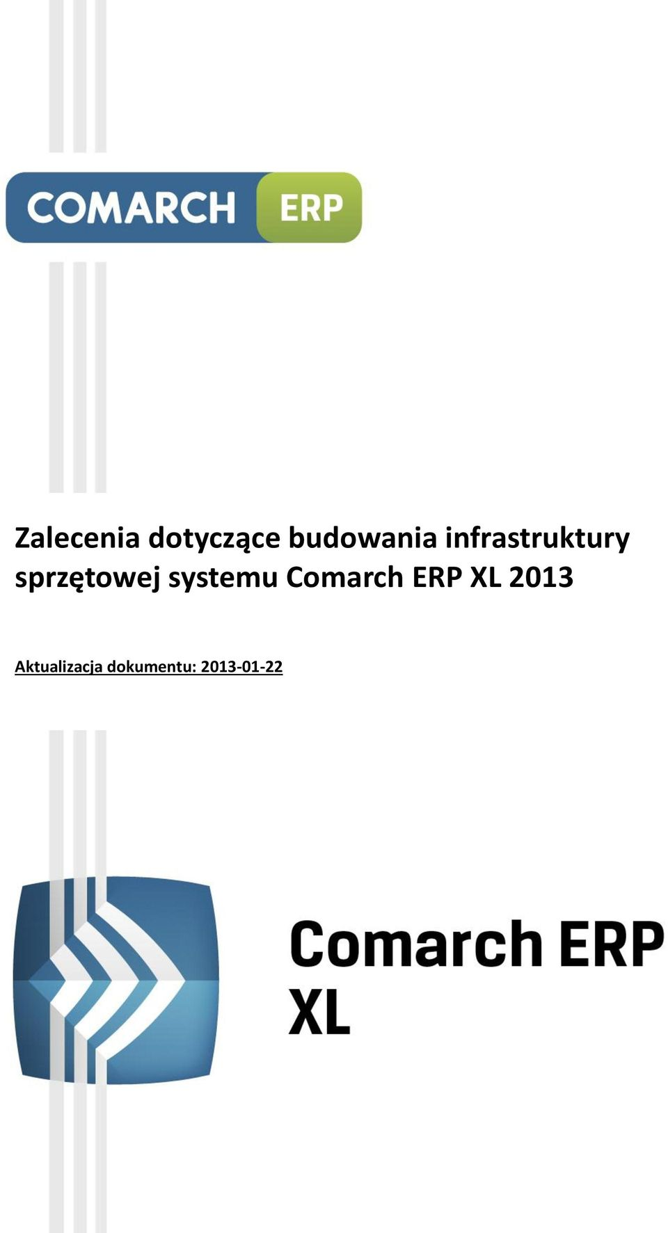 systemu Comarch ERP XL 2013