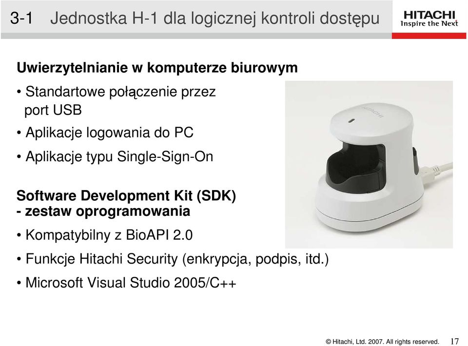 Single-Sign-On Software Development Kit (SDK) - zestaw oprogramowania Kompatybilny z