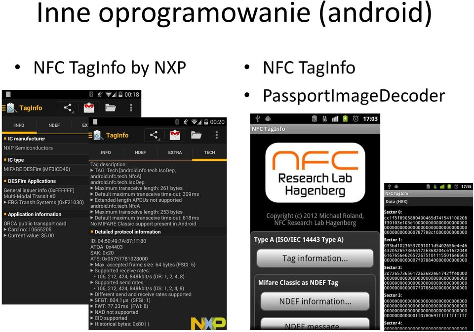 TagInfo by NXP NFC