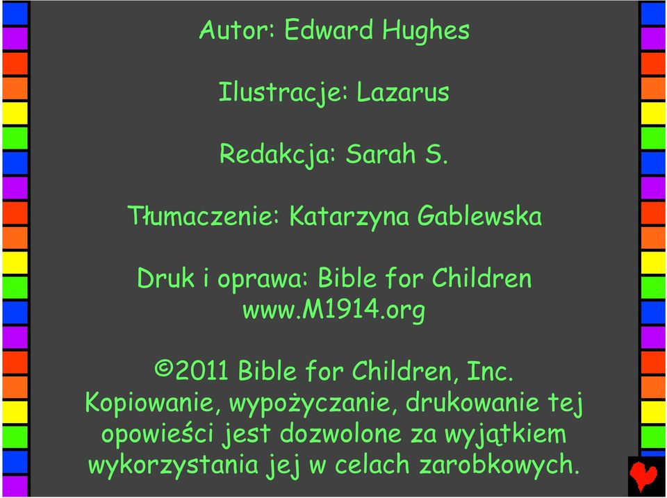 m1914.org 2011 Bible for Children, Inc.
