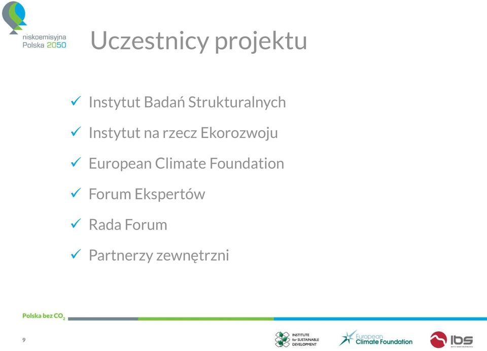 Ekorozwoju European Climate Foundation