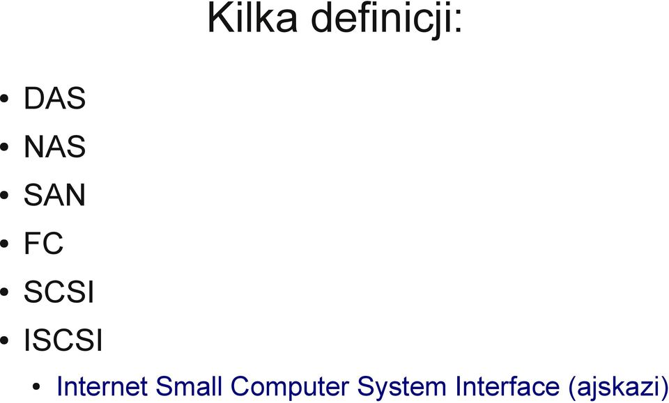 Internet Small Computer