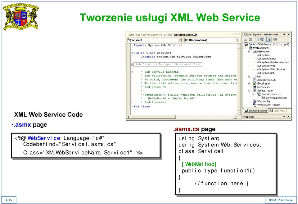 "Service1"" %> %>.asmx.cs page using System; using System.Web."