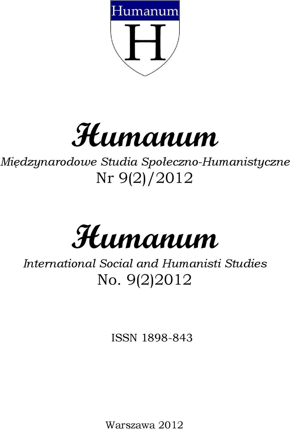 Humanum International Social and