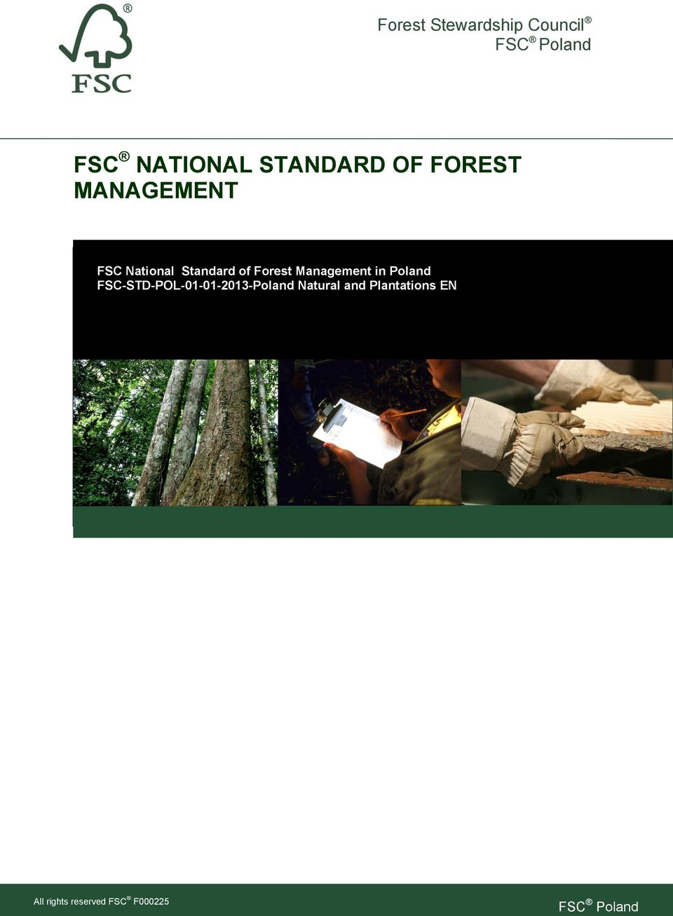 Standard of Forest Management in Poland