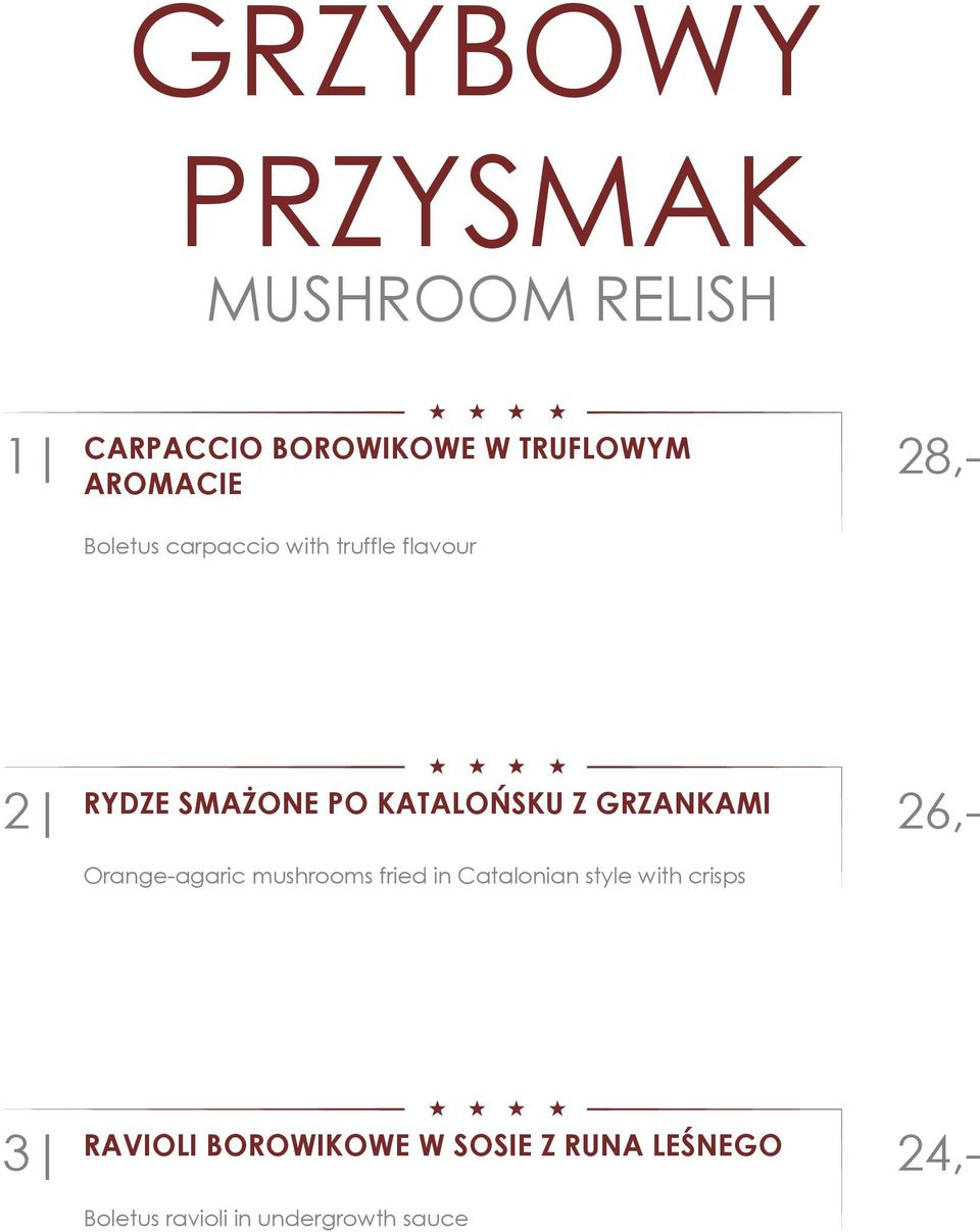 GRZANKAMI Orange-agaric mushrooms fried in Catalonian style with crisps