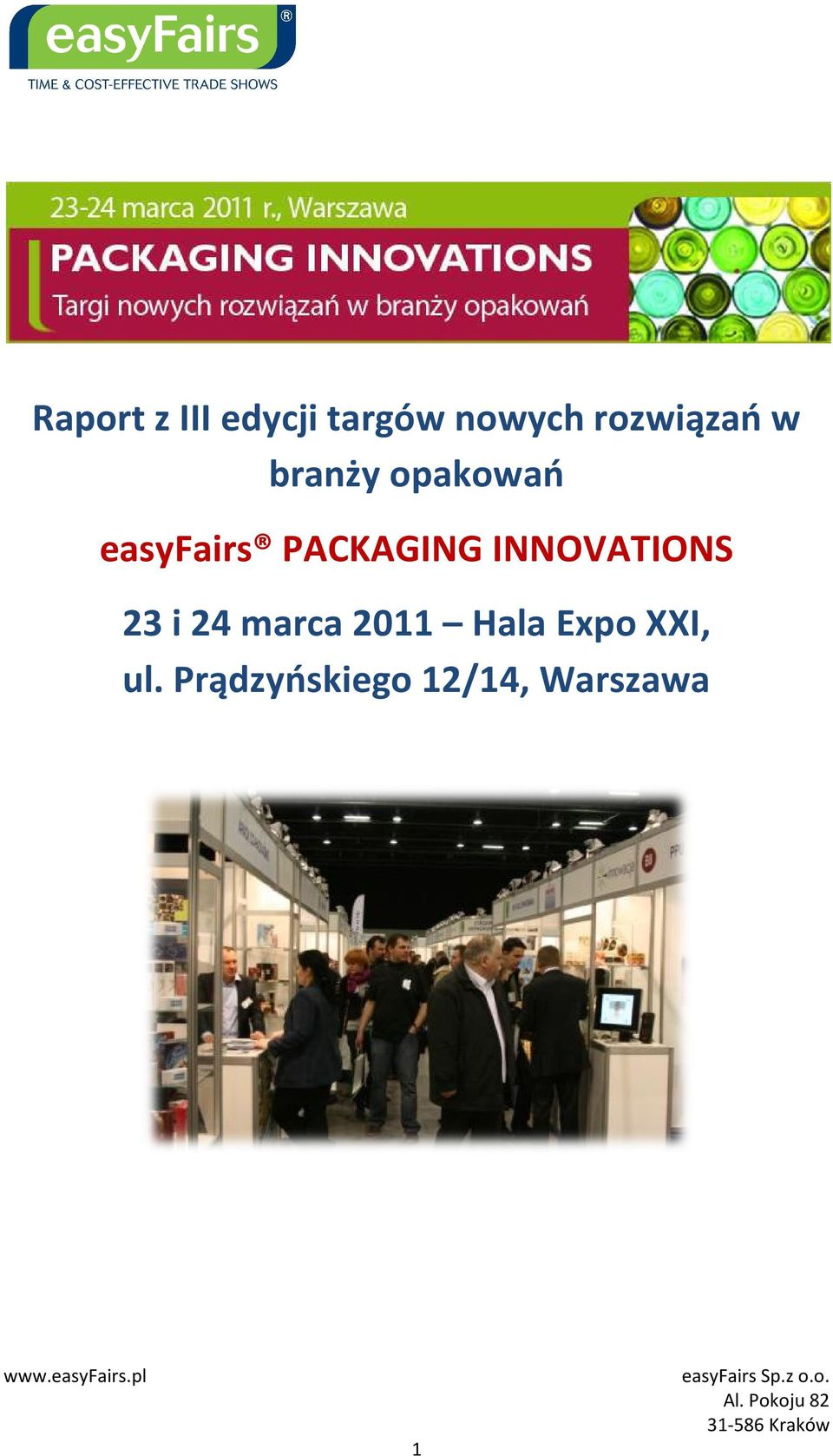 easyfairs PACKAGING INNOVATIONS 23 i 24 marca