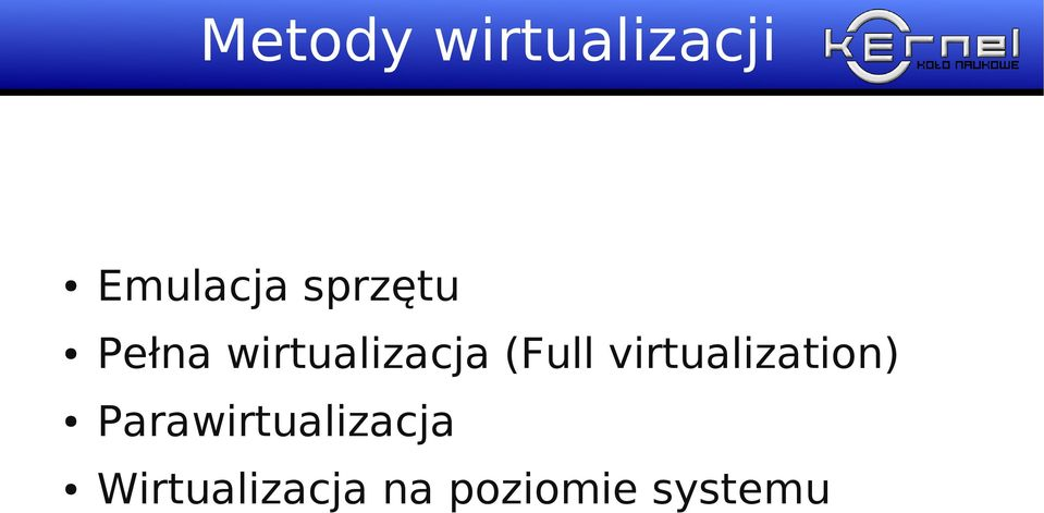 (Full virtualization)
