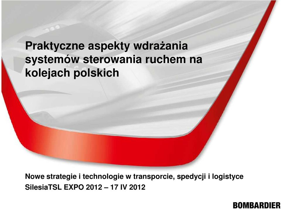 strategie i technologie w transporcie,