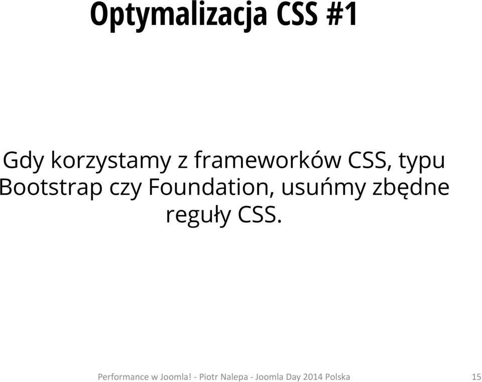 CSS, typu Bootstrap czy