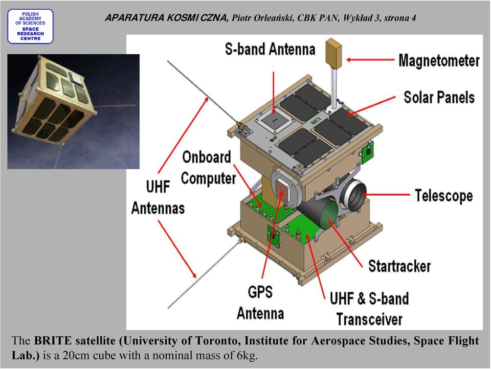 of Toronto, Institute for Aerospace Studies, Space