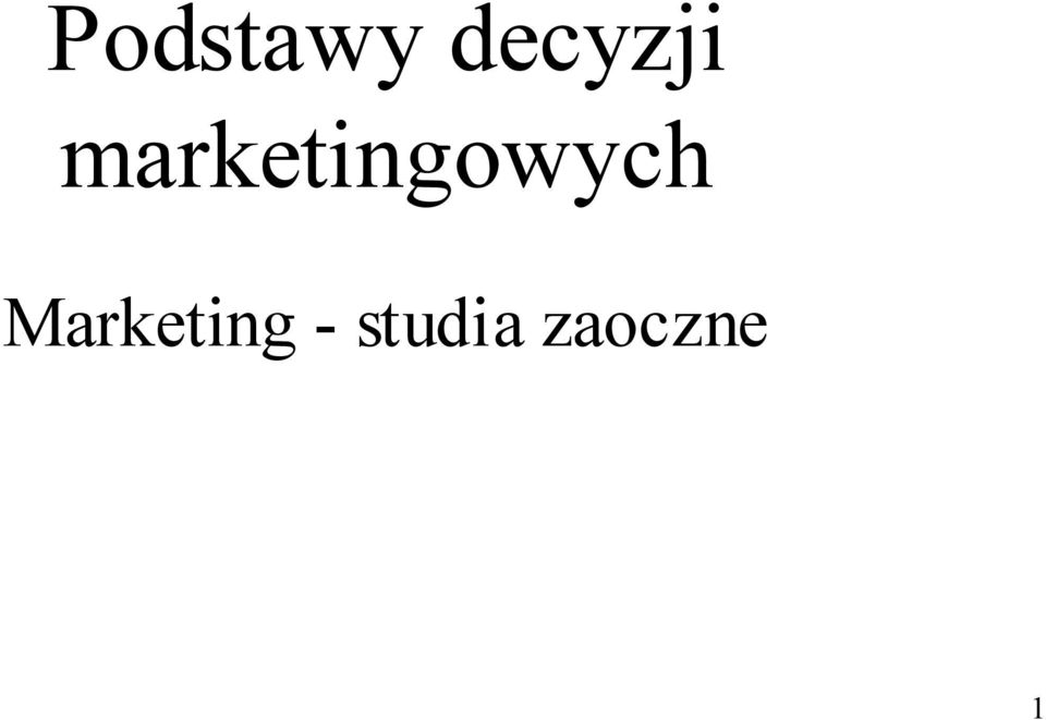 marketingowych