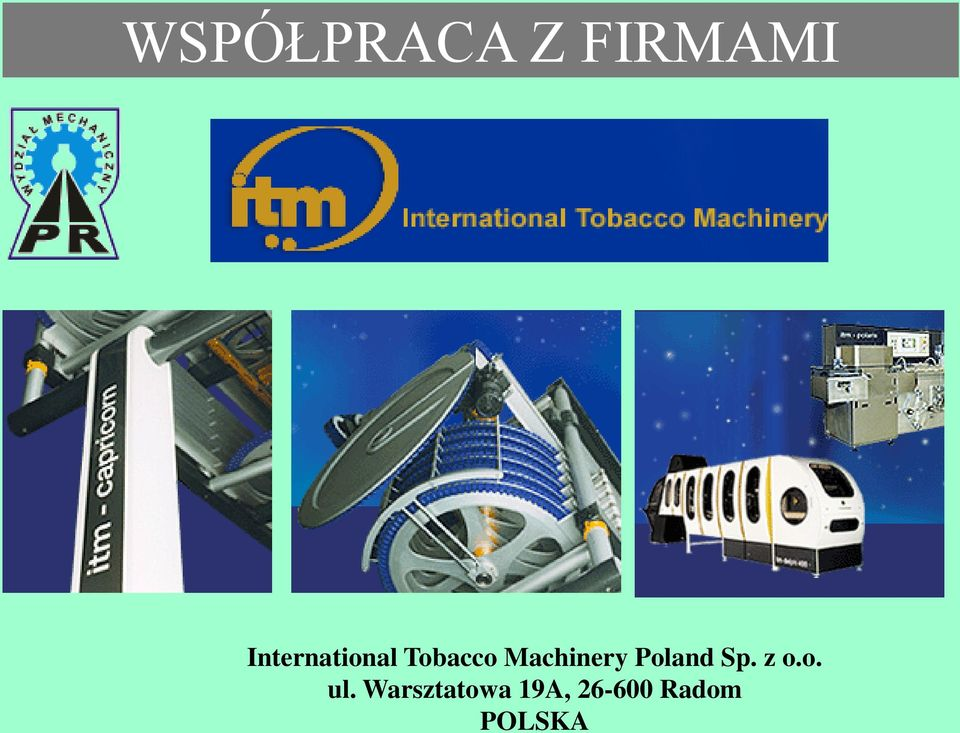 Machinery Poland Sp. z o.o. ul.