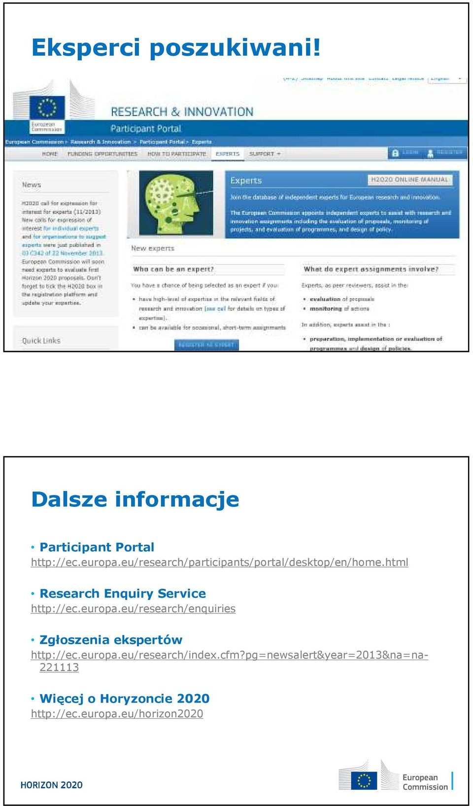 html Research Enquiry Service http://ec.europa.