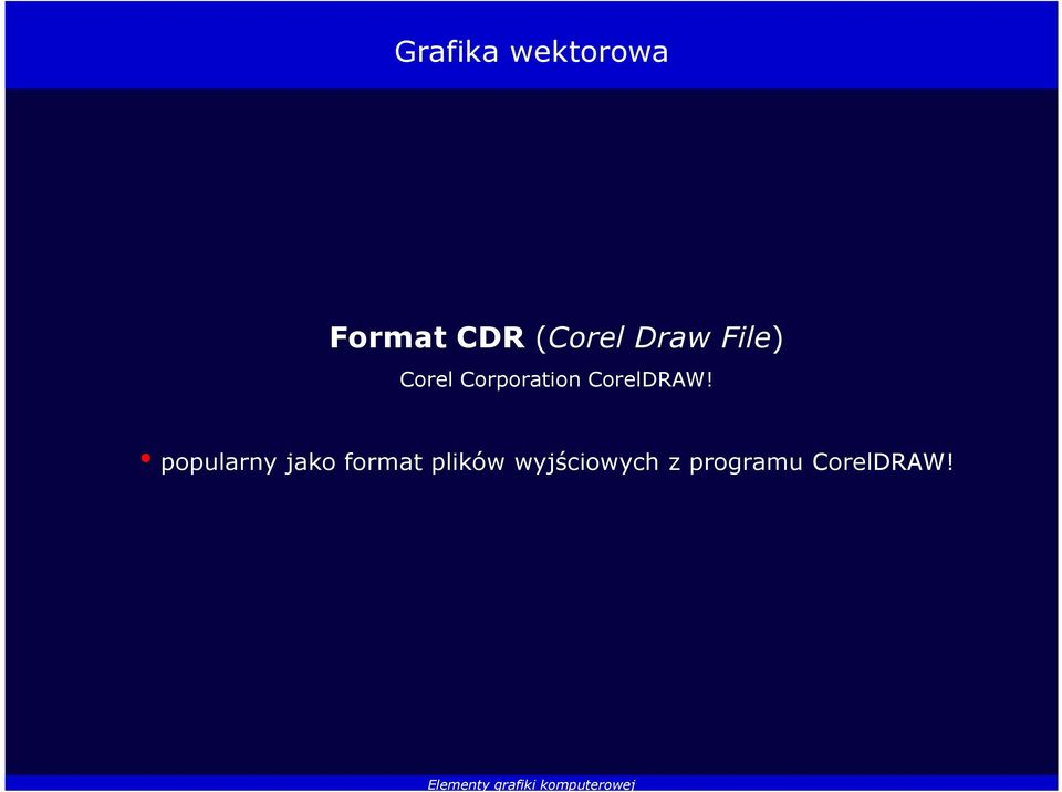 Corporation CorelDRAW!