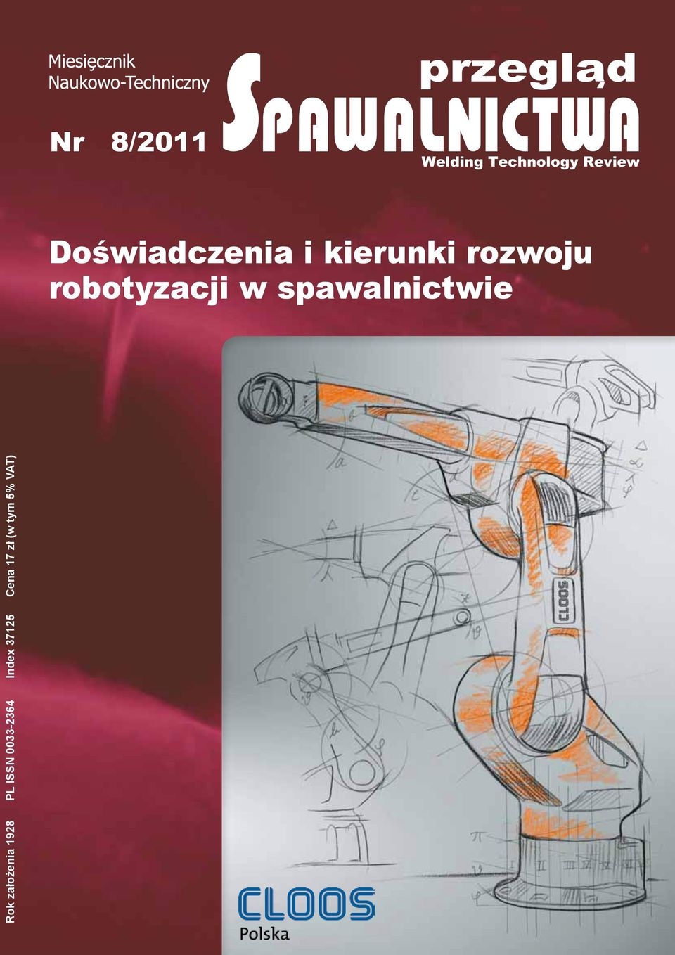 2/2011 8/2011 Welding Technology Review