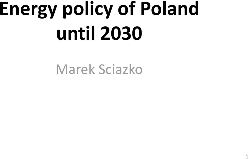 Poland until