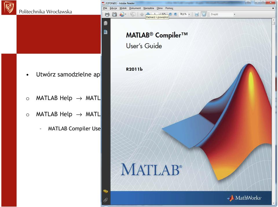 Started Magic Square Example o MATLAB Help MATLAB
