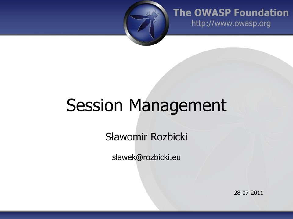 org Session Management