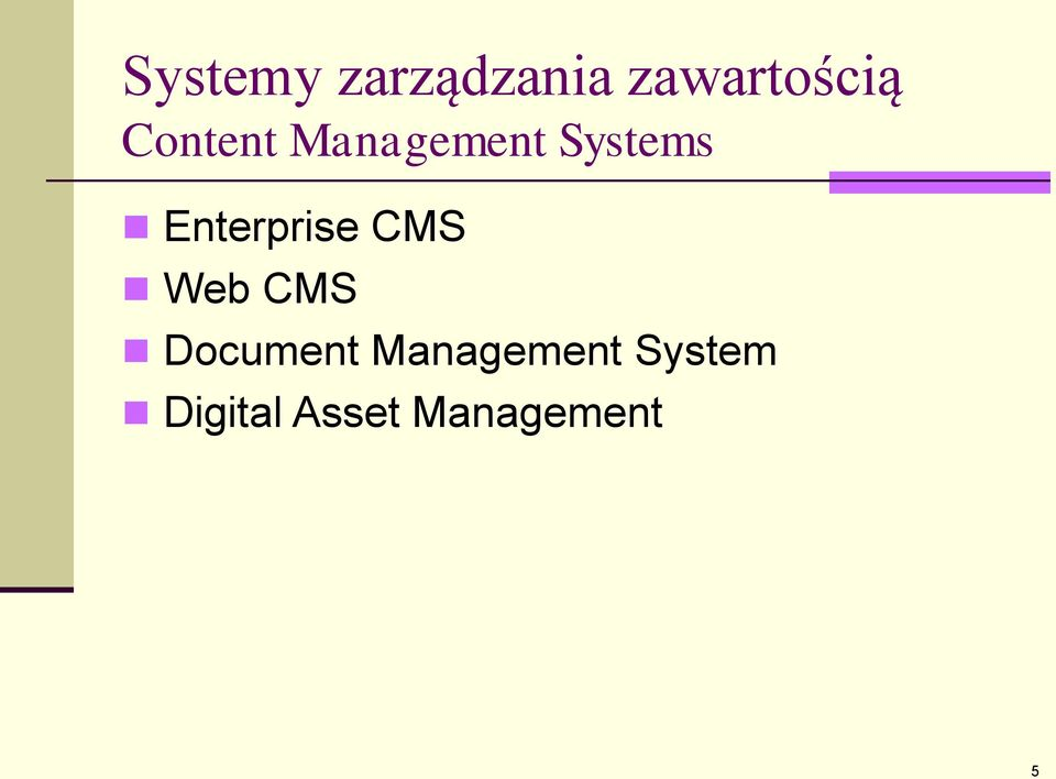 Enterprise CMS Web CMS Document