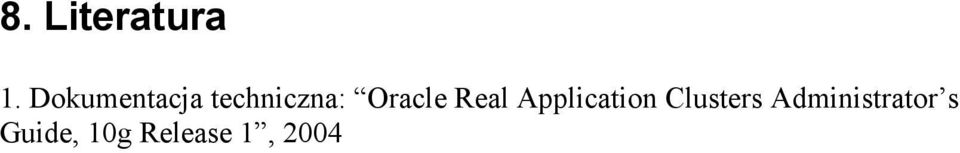 Oracle Real Application