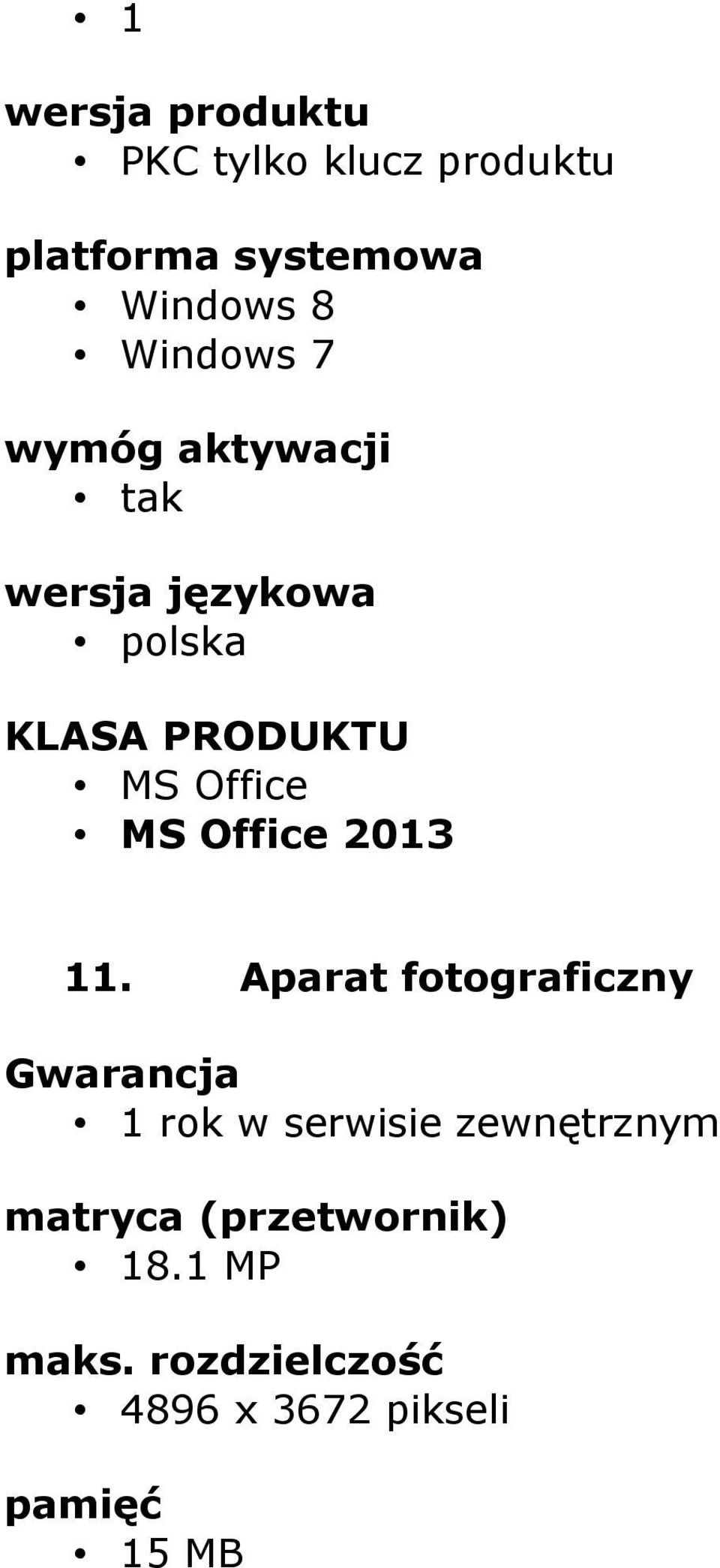 MS Office 2013 11.