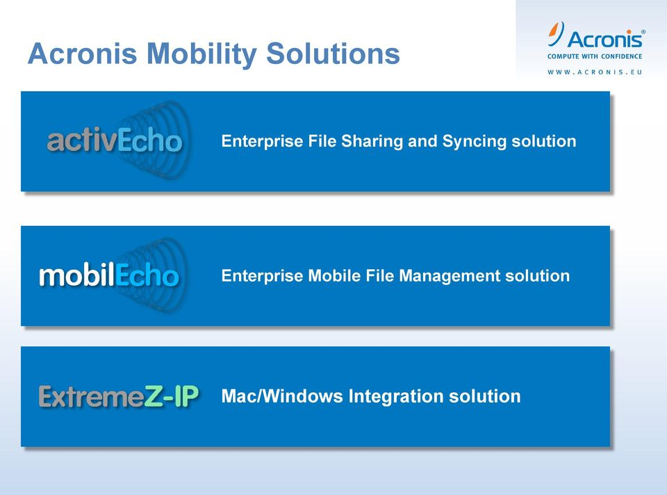 solution Enterprise Mobile File