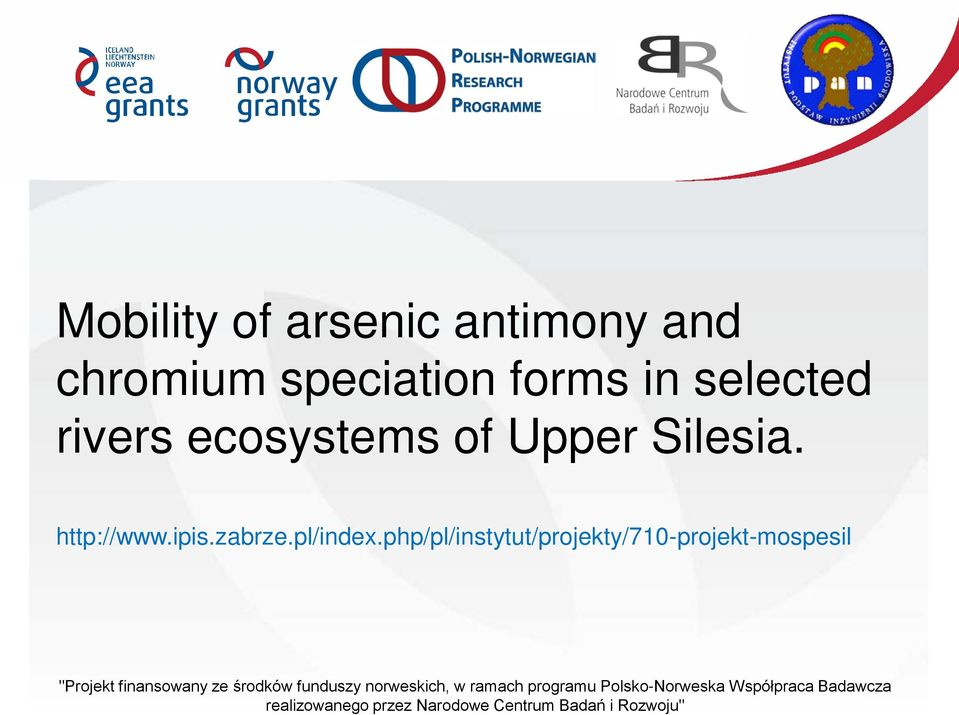 ecosystems of Upper Silesia. http://www.ipis.