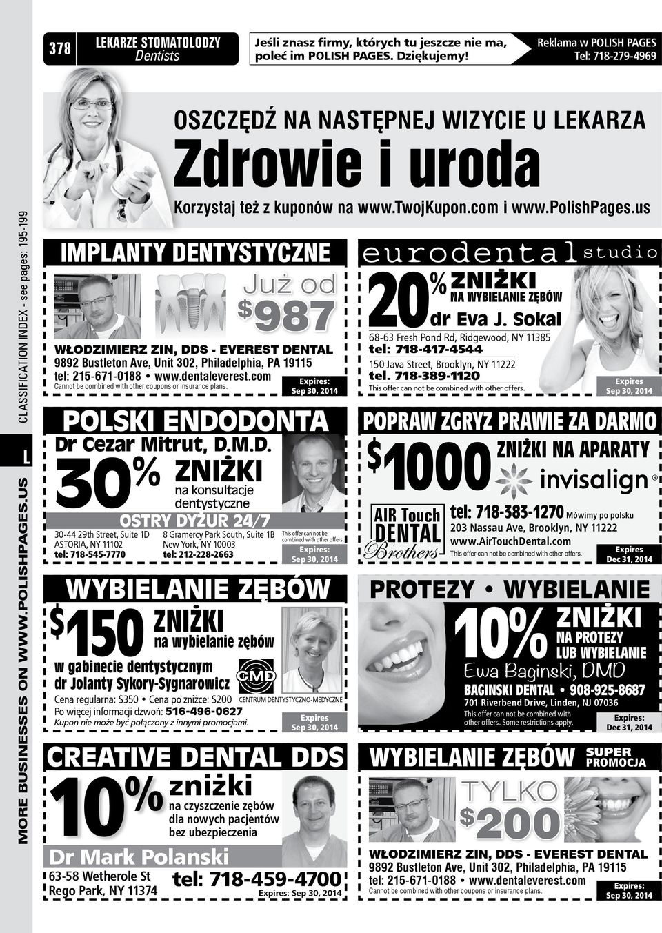 us LMore businesses on www.polishpages.