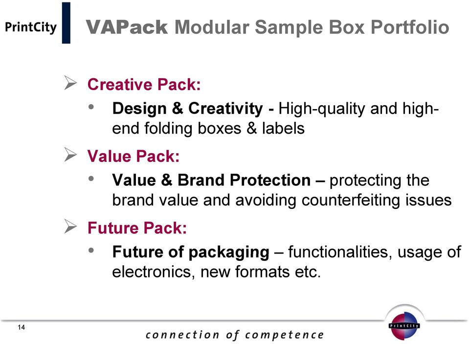 Protection protecting the brand value and avoiding counterfeiting issues