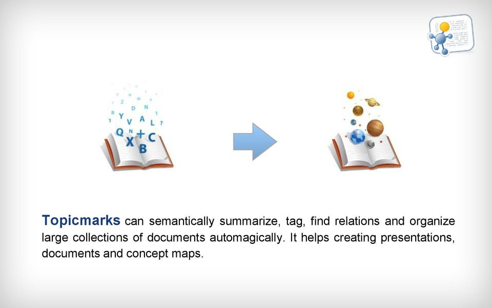 collections of documents automagically.