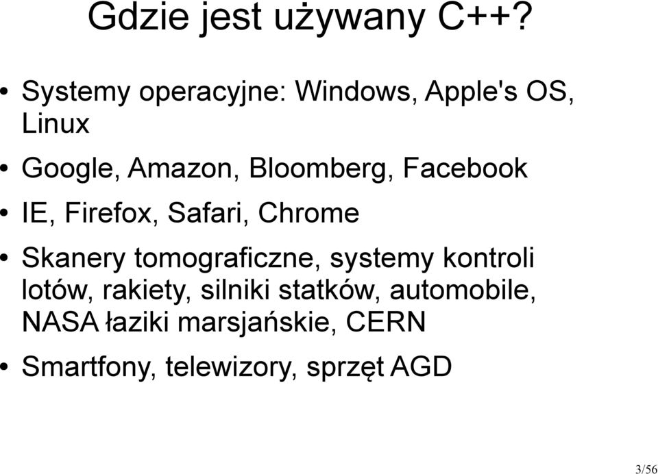 Bloomberg, Facebook IE, Firefox, Safari, Chrome Skanery tomograficzne,