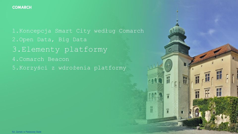 Elementy platformy 4.Comarch Beacon 5.