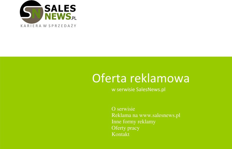 Reklama na www.salesnews.