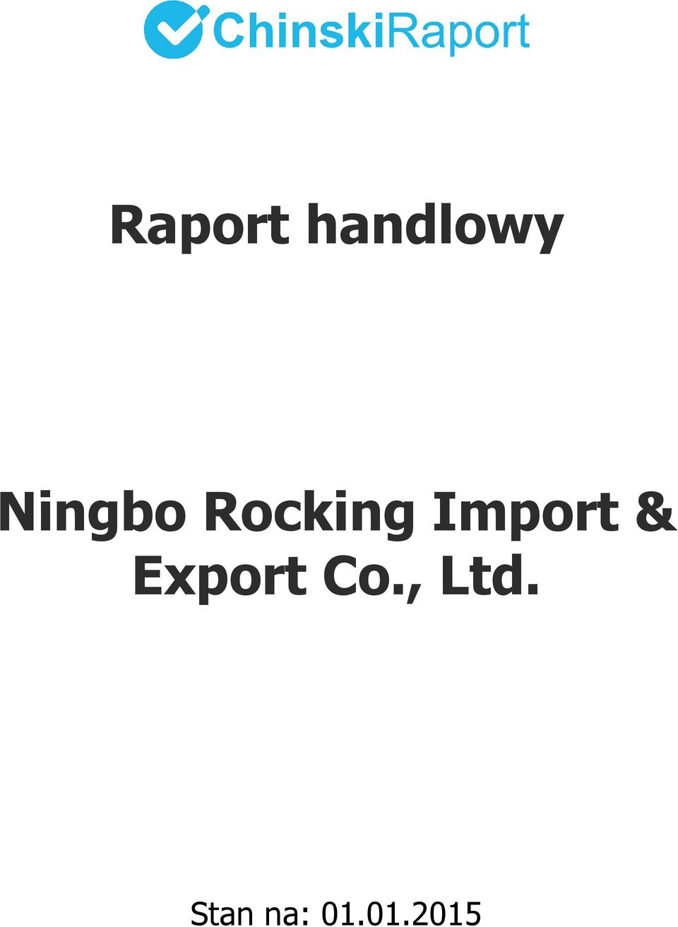 Import & Export Co.