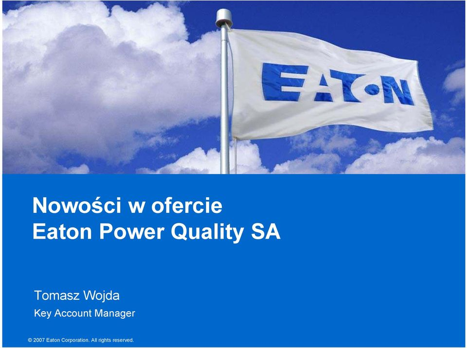 Account Manager 2007 Eaton