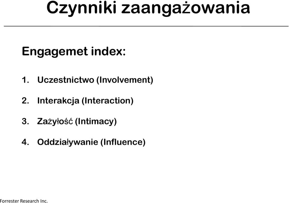 Interakcja (Interaction) 3.