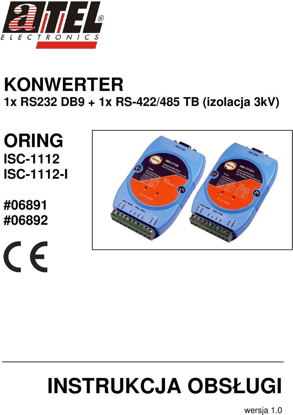 ORING ISC-1112 ISC-1112-I