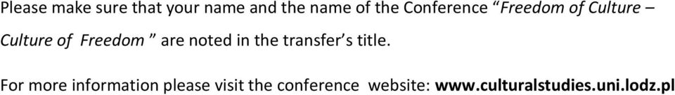 noted in the transfer s title.