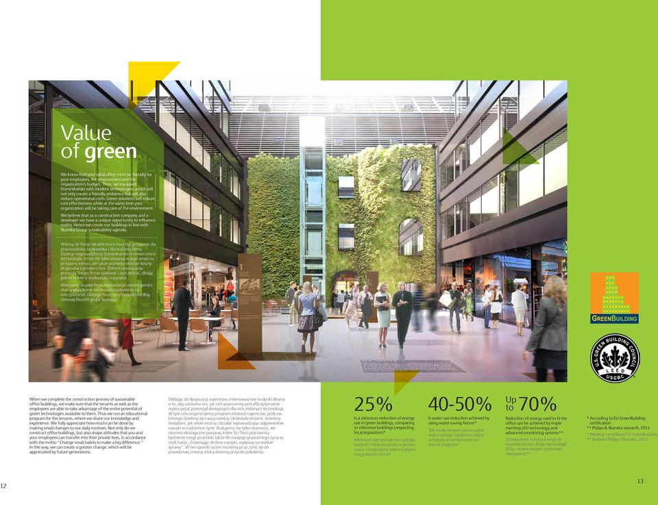 Green solutions will ensure cost effectiveness while at the same time your organization will be taking care of the environment.