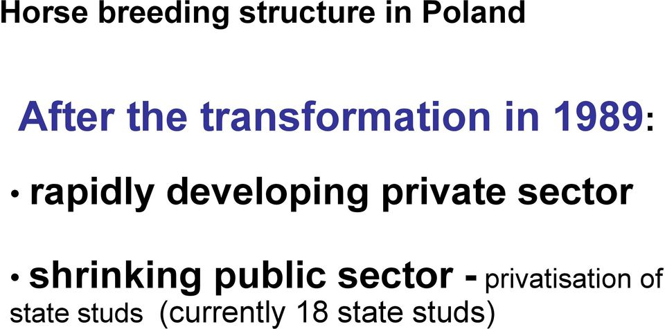 private sector shrinking public sector -