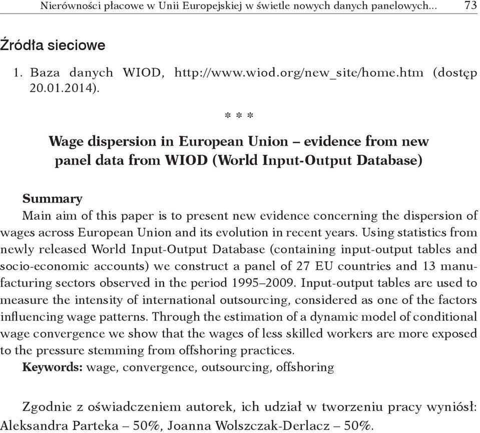 wages across European Union and its evolution in recent years.