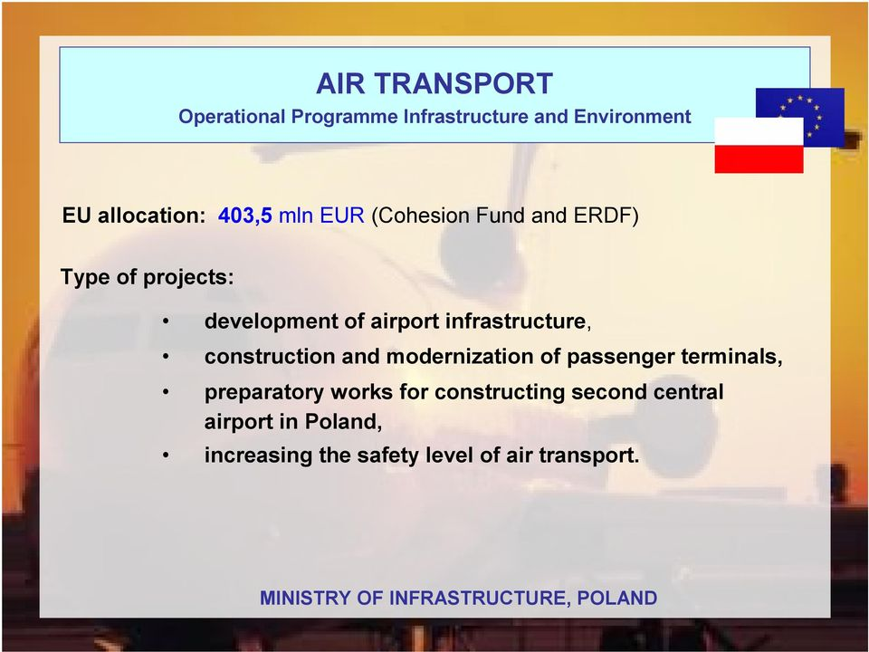 of passenger terminals, preparatoryworks for constructing second central airport